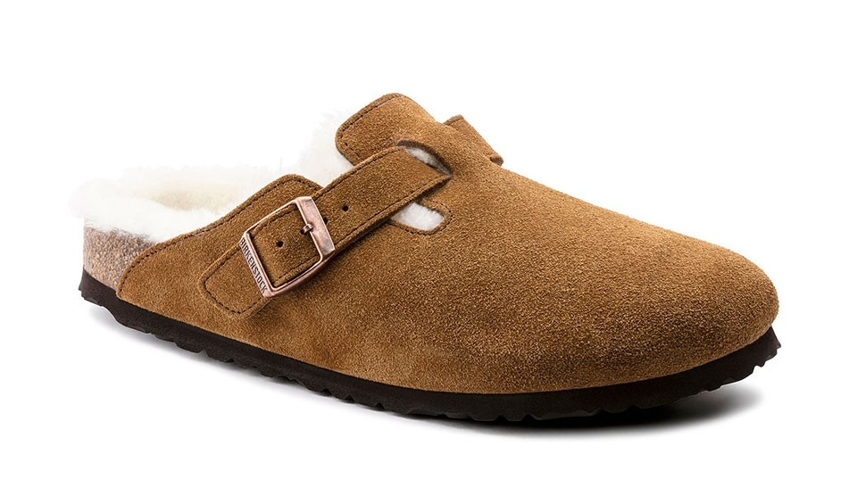 Zuecos Birkenstock Boston VL Sheepskin Mink