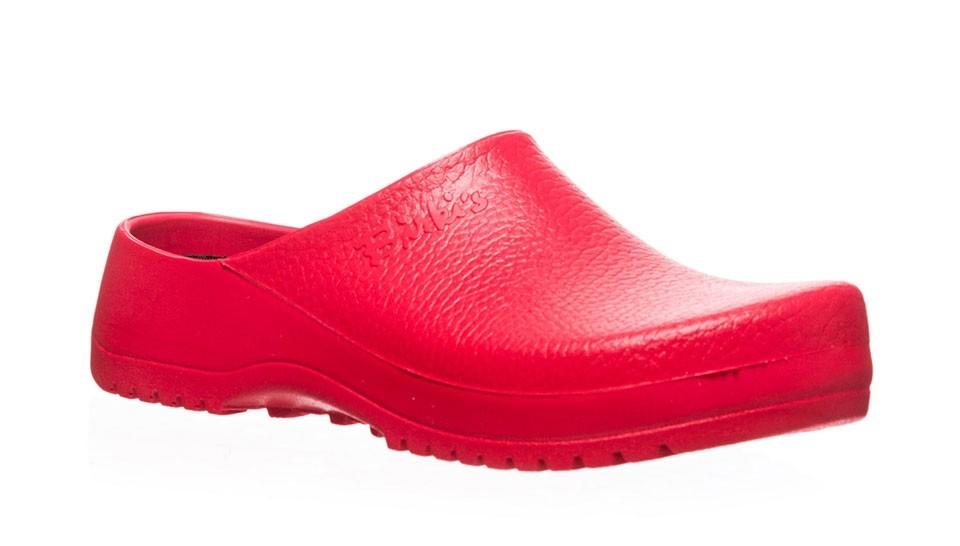 Zuecos Birkenstock Super-Birki PU Red